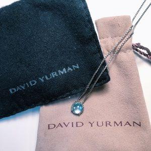 DAVID YURMAN NECKLACE IN BLUE TOPAZ
